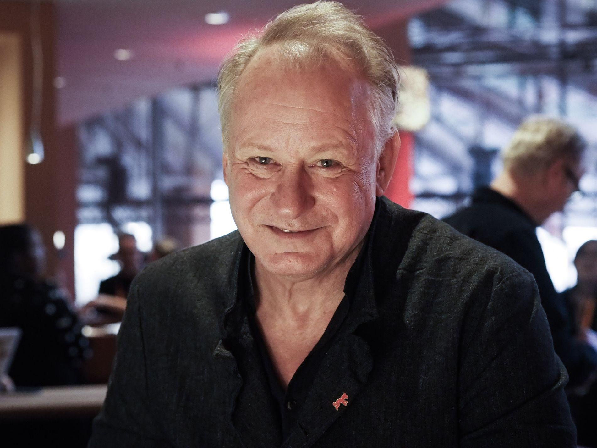 I BERLIN: Stellan Skarsgård (69) har gjentatte ganger jobbet med regissør Hans Petter Moland.
