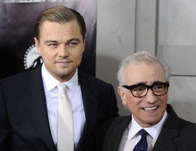 DREVENT PAR: Leonardo DiCaprio har flere ganger uttrykket sin begeistring for regissør Martin Scorsese – og sistnevnte virker å være minst like fornøyd med DiCaprio. Nå skal de to være i gang med sitt sjette filmsamarbeid.