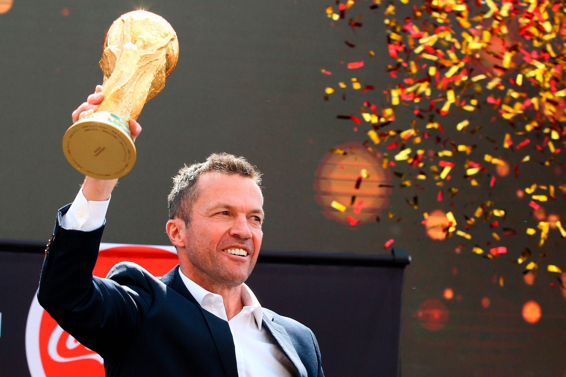 TILBAKE I VM: Lothar Matthäus er i VM som en av FIFAs inviterte legender.