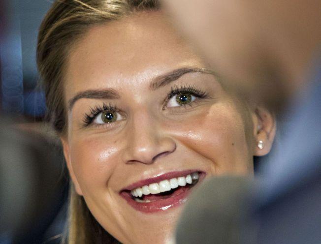 HENTES FRA OPPSAL: Amanda Kurtovic skulle egentlig spilt i Danmark neste sesong, men endret raskt planer da Larvik kom på banen. Kurtovic spilte også for LHK da hun vant både VM- og OL-gull i 2011 og 2012.