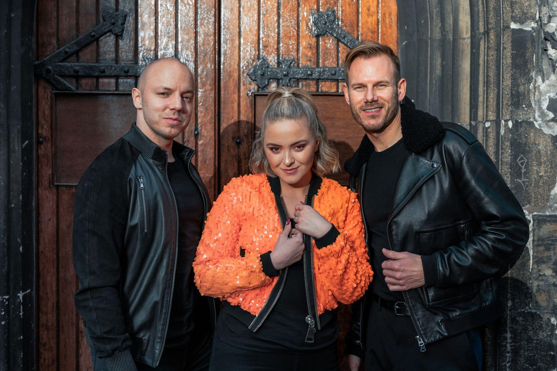 NY MUSIKK: Fred Buljo, Alexandra Rotan og Tom Hugo i KEiiNO er klar med ny single, «Praying», og i kveld opptrer de for titusener under VG-listeshowet på Rådhusplassen i Oslo.