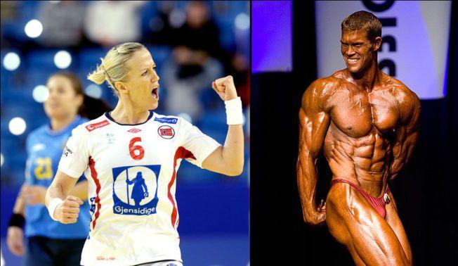 GJØR HVERANDRE BEDRE: Heidi Løke har vært strålende for Norge under EM. Kjæresten Bjørn Vestrum Olsson (t.h.) er blant dem som har gjort henne sterkere. Her er han avbildet under Oslo Grand Prix i 2007. Olsson har senere gitt seg som kroppsbygger.