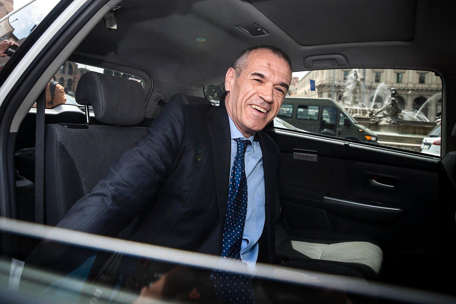 «SOMMERFERIEMINISTER» IMP-toppen Carlo Cottarelli er utpekt til midlertidig statsminister i Italia, men i likehet med mange av sine forgjengere, forventes han ikke å styre lenge