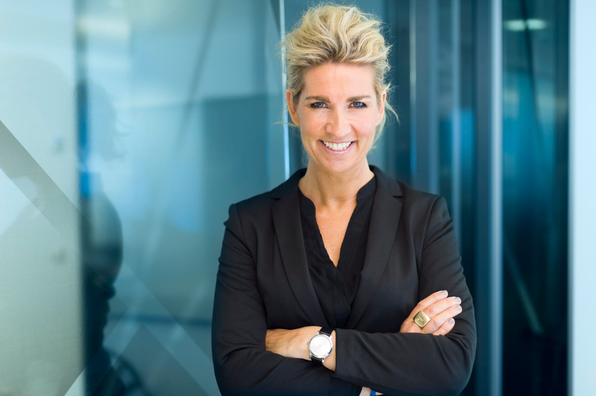 Sheconomy: Benja Stig Fagerland skrev boka Sheconomy, som handler om  hvordan kvinnene kan bidra til å forbedre og forandre forretningslivet - og om hvorfor kvinner lønner seg.