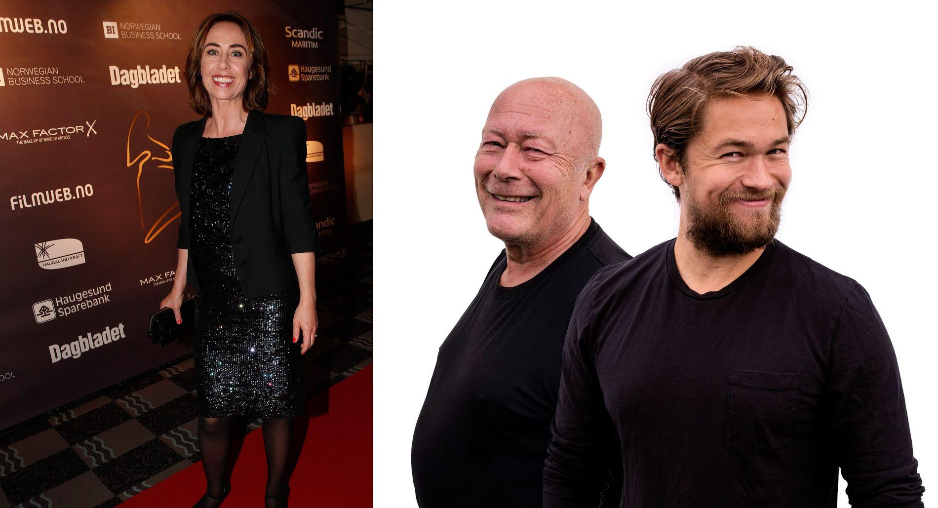 TO GANGER I HAUGESUND PÅ EN UKE: Sofie Gråbøl deltok på Amanda-showet. Hun vil gjerne jobbe med både far og sønn Oftebro.