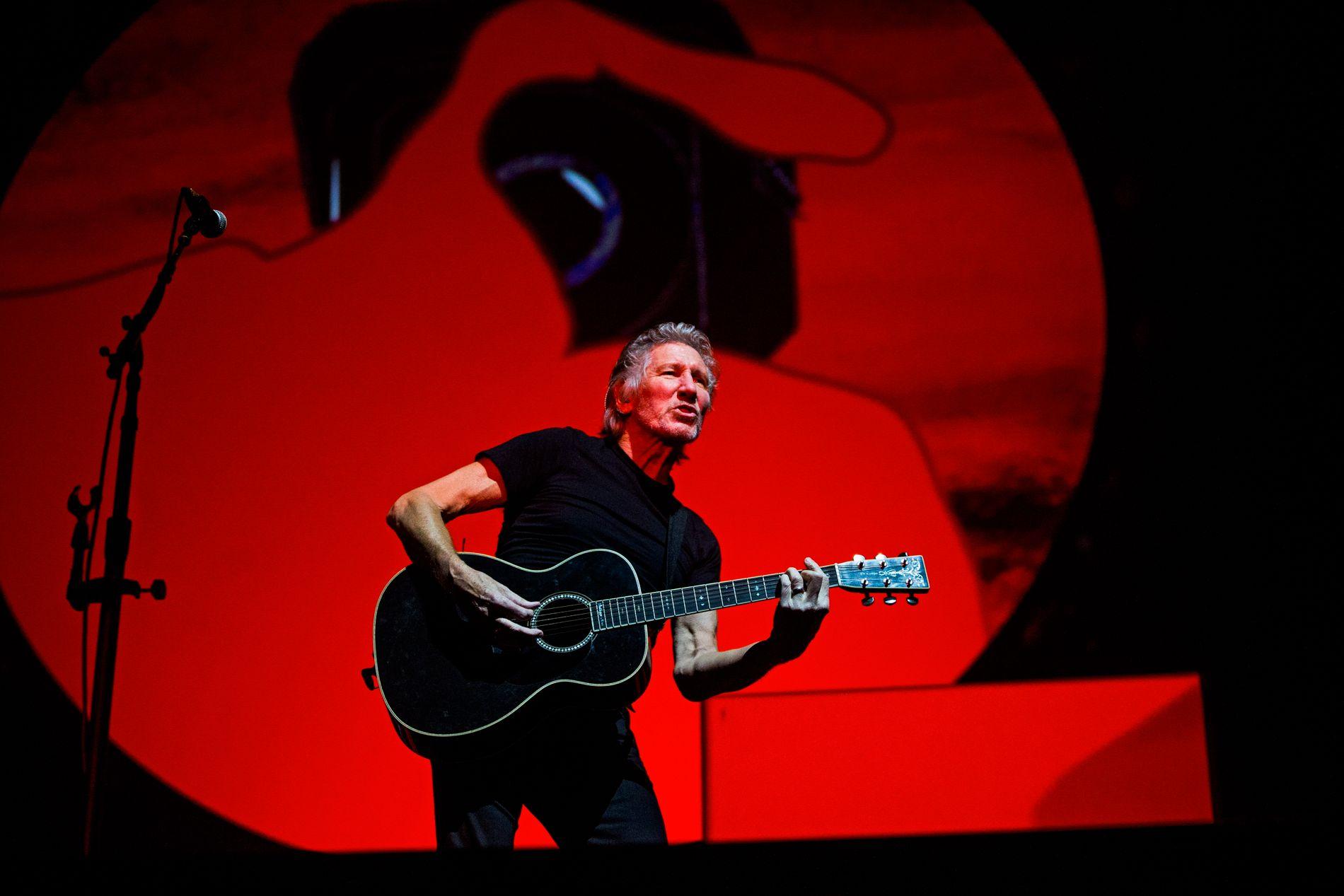 FORNØYD ANMELDER: «Roger Waters fremstår som en blanding av Bernie Sanders og Jeremy Corbyn, med den begrensede personlige sjarmen til sistnevnte.» Her fra en tidligere konsert i Norge.