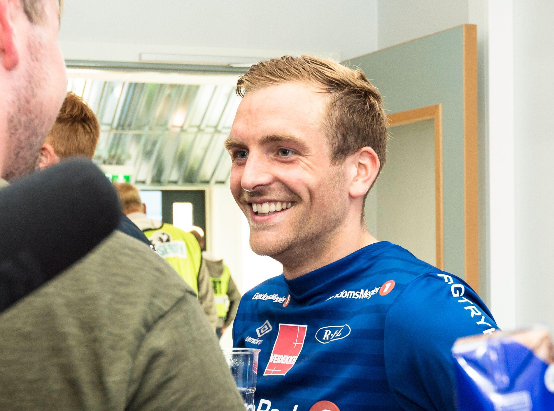 Kristoffer Løkberg avgjorde «medaljekampen» mot Sarpsborg 08.