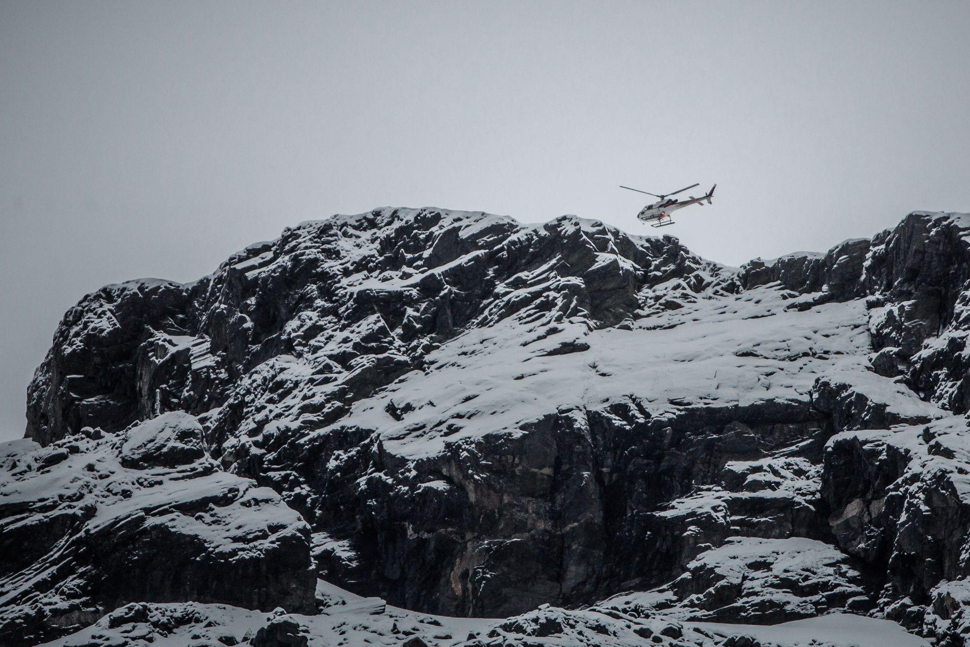 GJENGANGER: Beboerne under fjellområdet Mannen har gjentatte ganger blitt evakuert på grunn av høy rasfare.