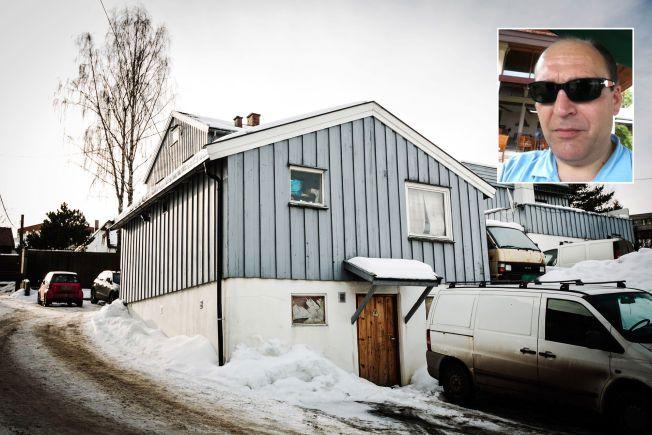 HASJLAGER: Her oppbevarte hasjligaen over 100 kilo hasj i desember 2013. Lageret ble «robbet» av politiets spanere, noe som ble gjort for å fremprovosere kommunikasjon i Cappelen-ligaen.
