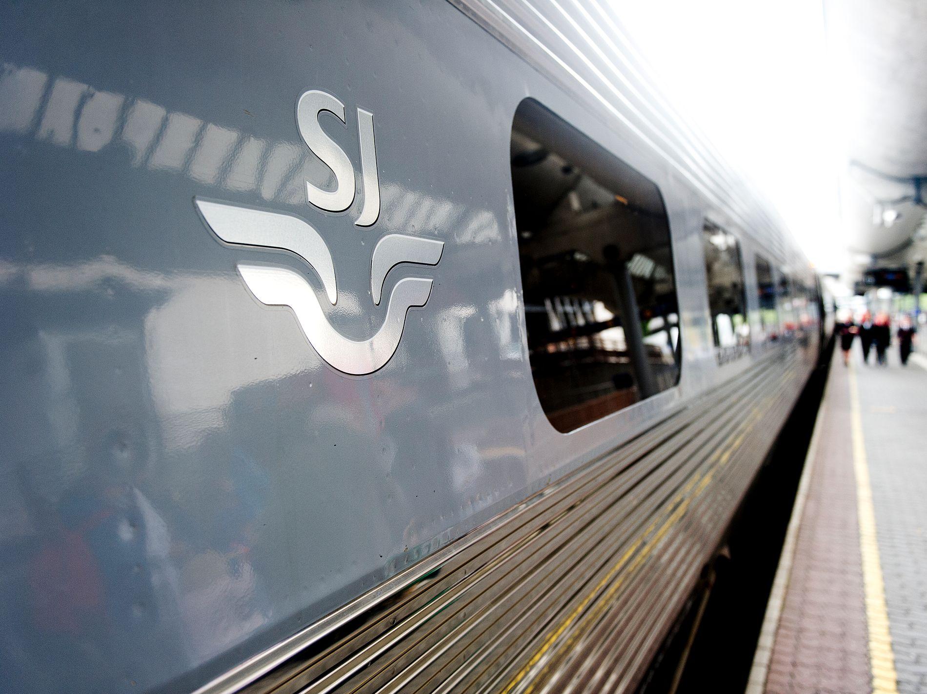 SJ øker kapasiteten i helgen.