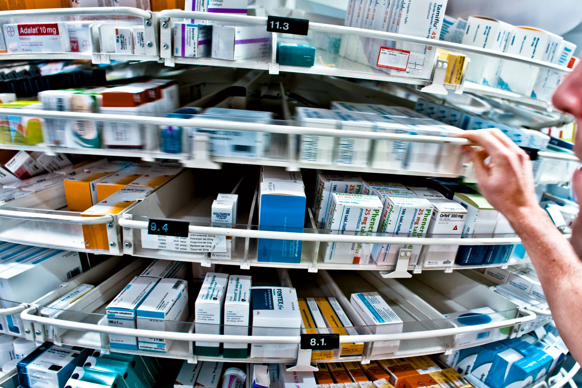 MEDISINMANGEL: 7000 personer har ikke fått alle medisinene de skal ha i såkalte multidosepakker.