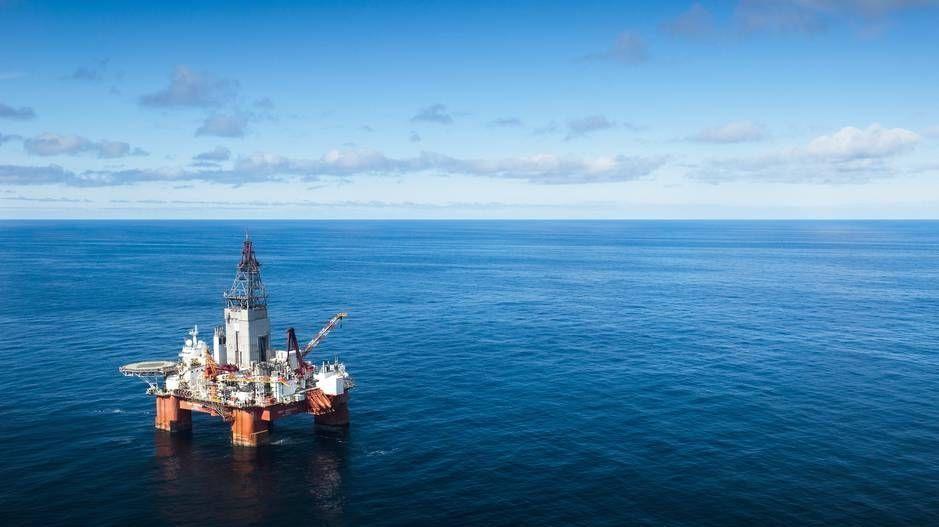 OPPTUR: Det strømmet mer olje og gass fra den norske sokkelen i første kvartal enn i tilsvarende periode året før.