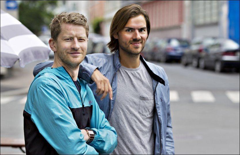 GÅR NYE VEIER: Odd-Magnus Williamson og Henrik Thodesen er klar for å sysle med sine egne prosjekter til høsten. Foto: Roger Neumann / VG