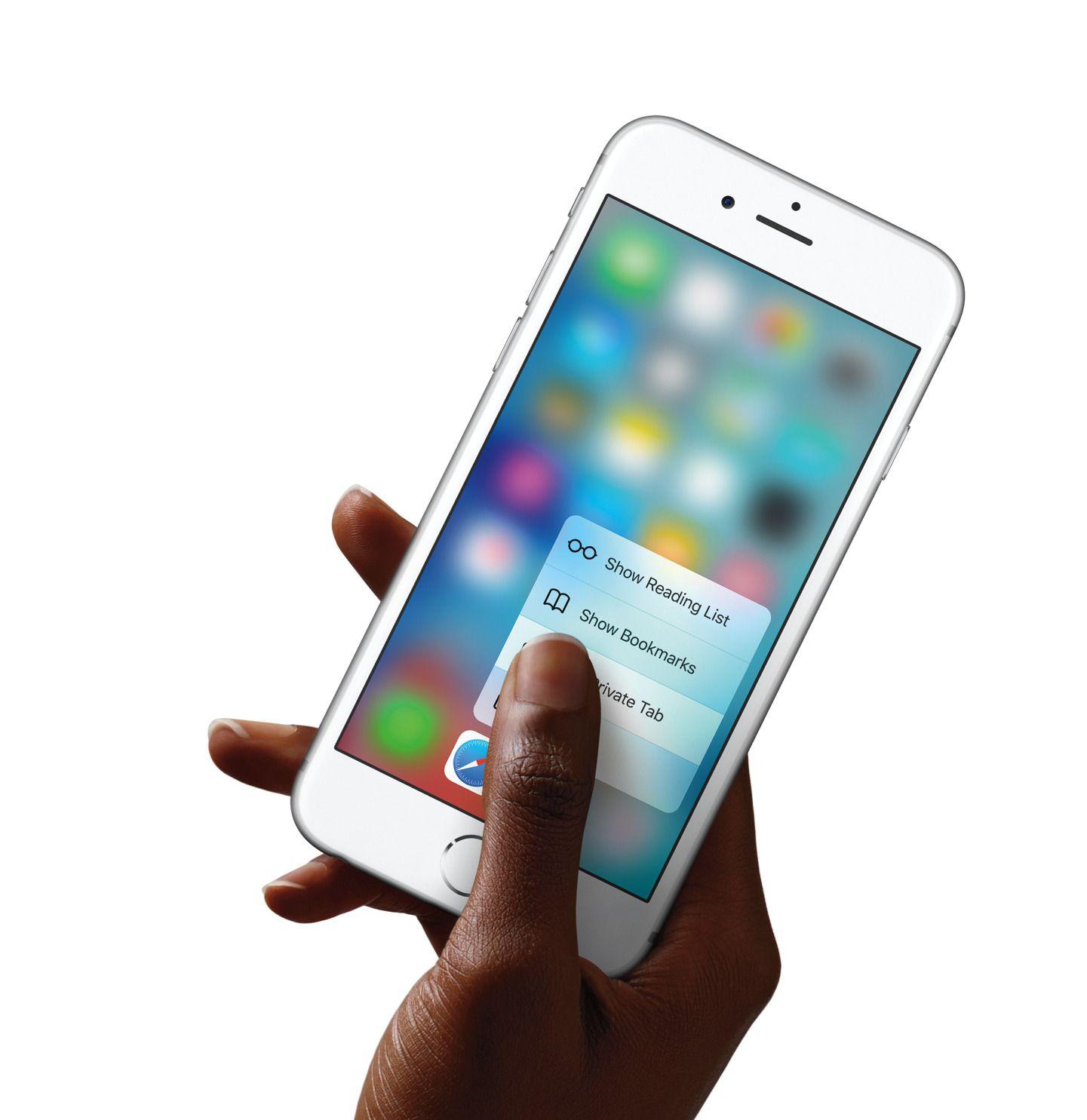 3D Touch åpner for nye måter å bruke en mobil på.