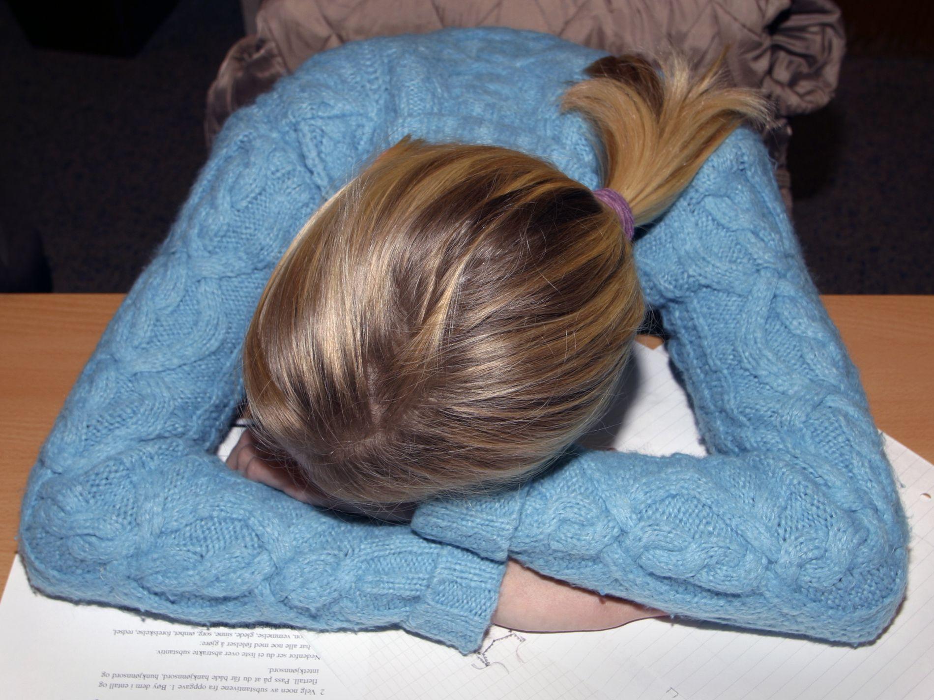 EN AV FIRE SLITER: En stor britisk undersøkelse viser at 24 prosent av 14-årige jenter og 10 prosent av 14-årige gutter hadde opplevd depresjon. FOTO: SCANPIX