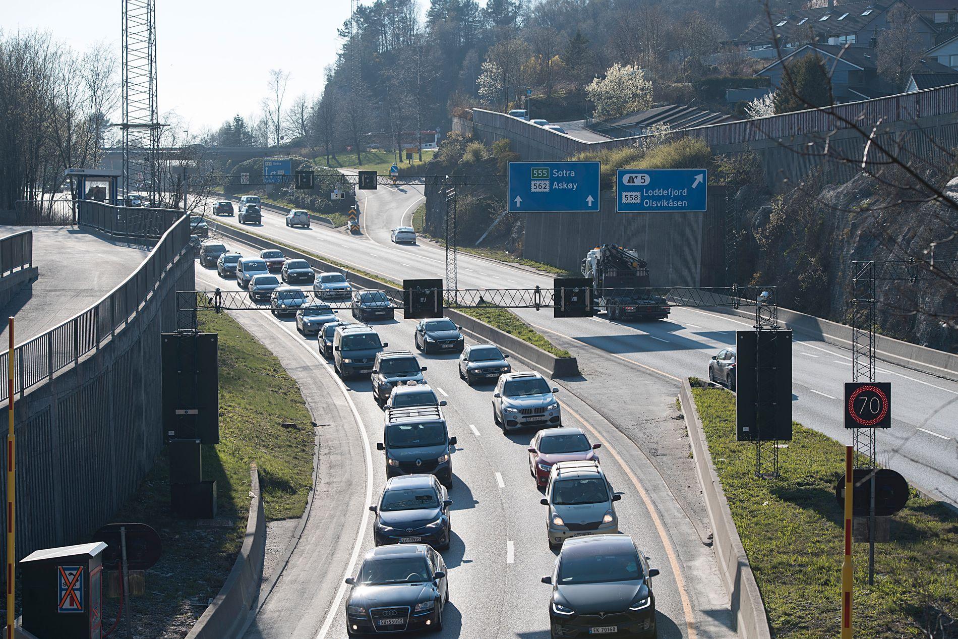 STOR BROMPENGEMOTSTAND: Folkeaksjonen nei til mer bompenger sjokkerer på siste måling i Bergen.