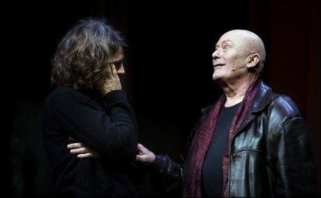 PREMIEREKLAR: Nils Ole Oftebro i rollen som «Stefan» i forestillingen «Demoner 2014» på Nationaltheateret. Foto: FREDRIK SOLSTAD/VG