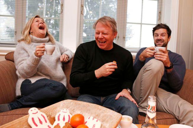 LATTER: «Bettan», Antonsen og Solli-Tangen har god kjemi og latteren sitter løst når de er sammen.
