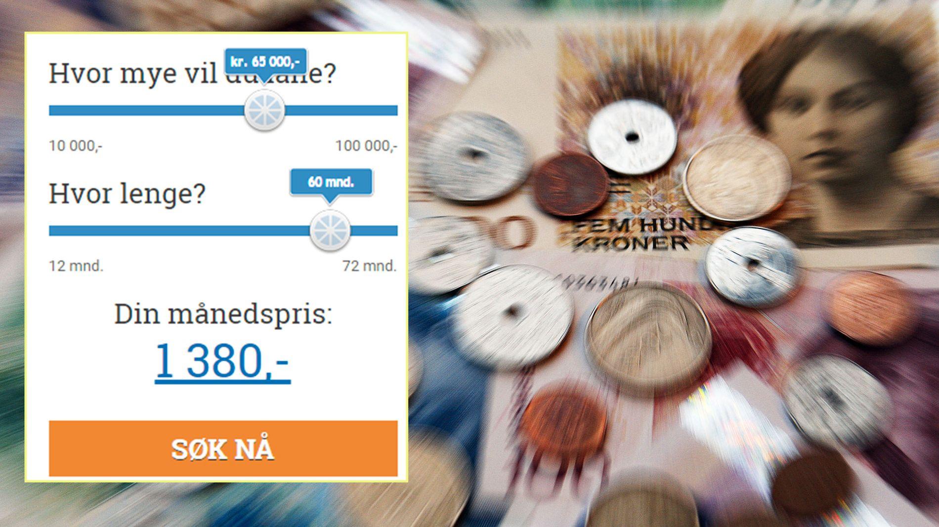 ENORME AVVIK: Forskjellen på prisen som Thorn Norge Finans frister med, og den kunden faktisk må betale, kan være flere tusen kroner.