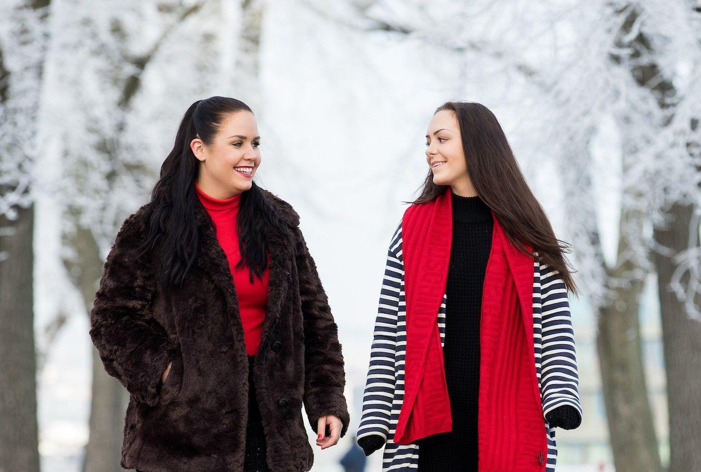 VIL HJELPE ANDRE: June Holm og Andrea Voll Voldum oppretter stiftelse for kvinner som har blitt voldtatt. FOTO: Espen Solli