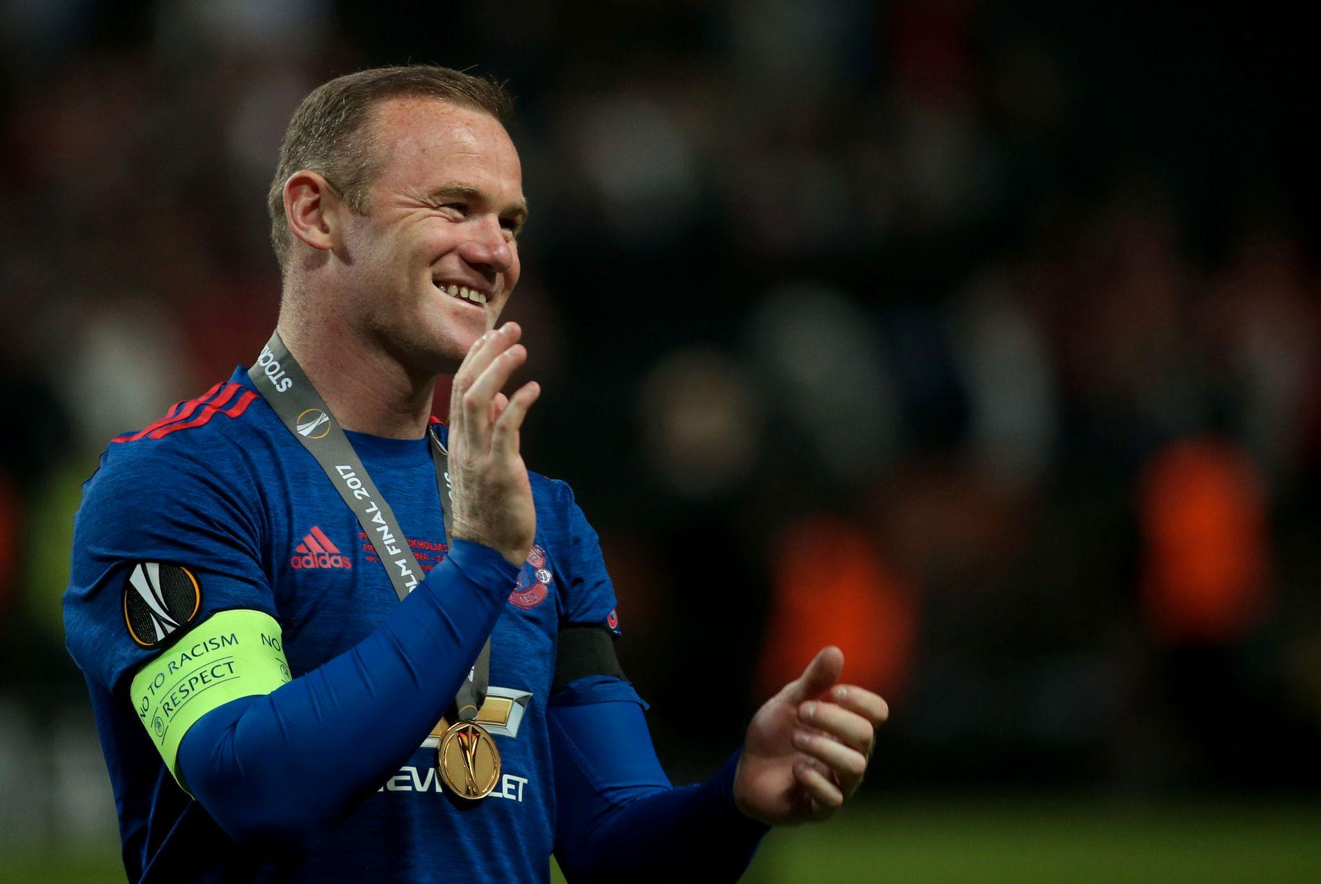 TAKKER AV: Etter 13 år og 253 scoringer er Wayne Rooney ferdig i Manchester United.