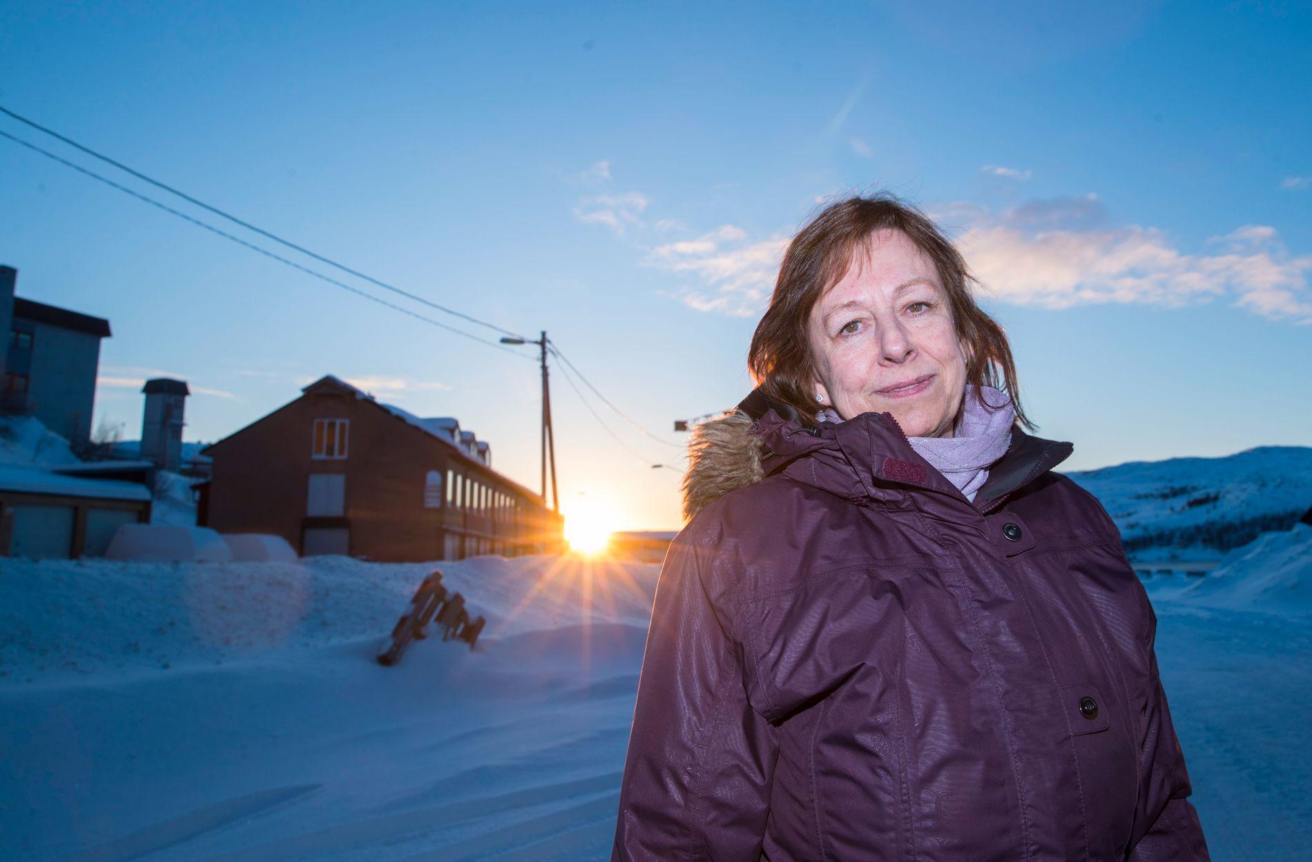 MISTET KONTAKT MED MANNEN: Frode Bergs kone, Anita Berg, sier at hun tror mannen hennes har det vanskelig. – Saken er alvorlig.