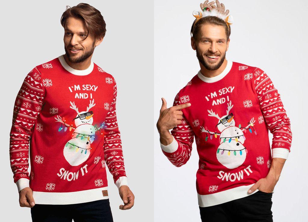 Julegenser (Herre), Snømann – Julegenserbutikken