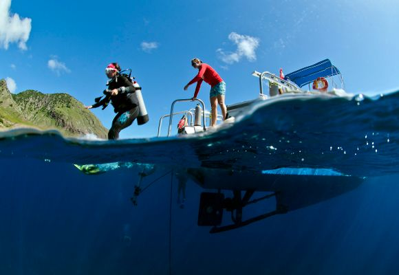 Saba - det lille dykkerparadiset i Karibien