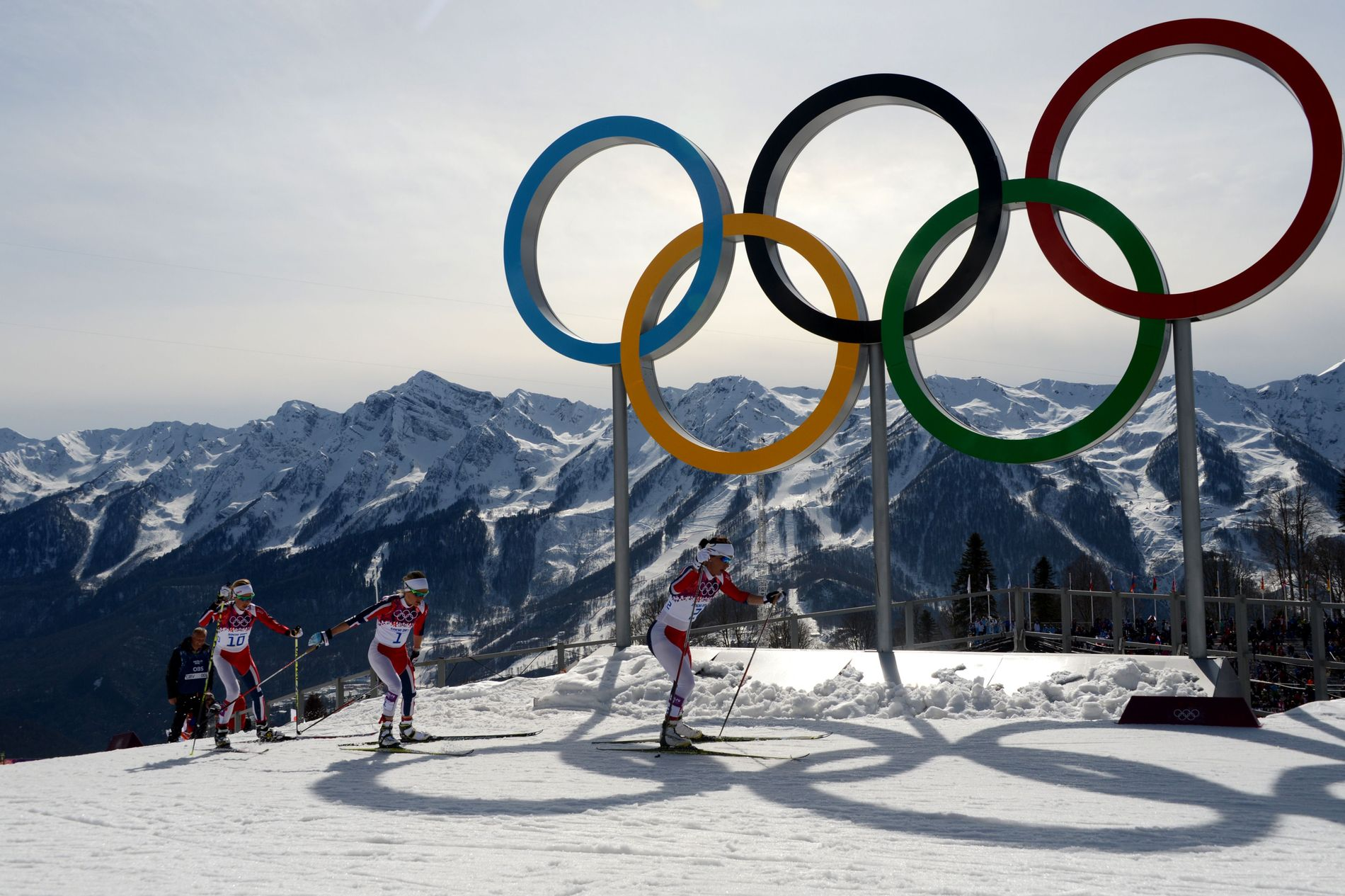 OL TIL NORGE? Denne gangen er det Telemark som kaster seg inn i kampen om å få lekene tilbake til Norge. Bildet er fra kvinnenes tremil under OL i 2014.