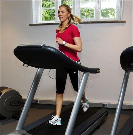 e7424d7d Hun er timelærer ved Norges idrettshøgskole, og også treningsekspert i VGs  Vektklubb.no. Foto: Frode Hansen