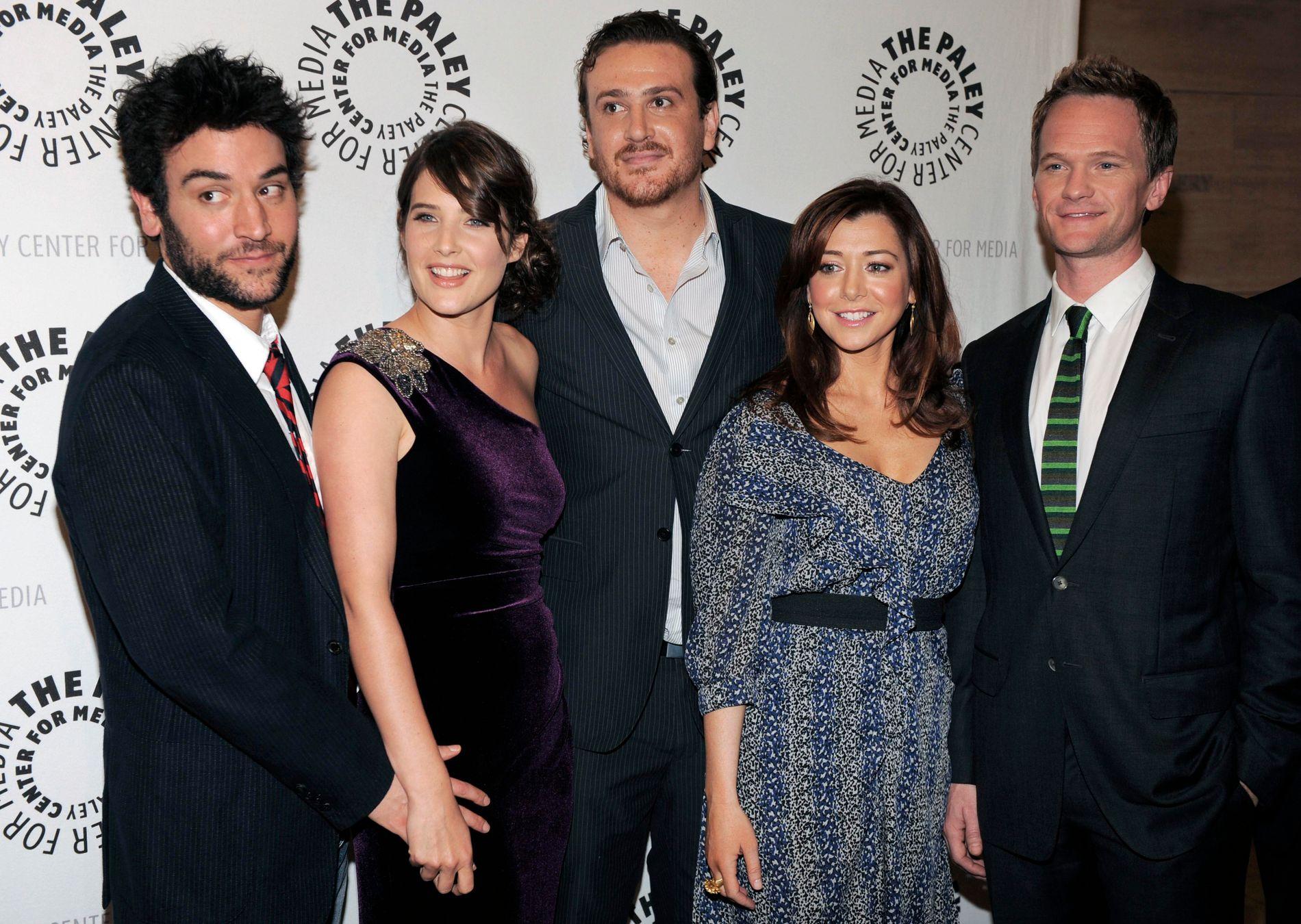 2010: «How I Met Your Mother»-stjernene under feiringen av episode nummer 100. F.v.: Josh Radnor, Cobie Smulders, Jason Segel, Alyson Hannigan og Neil Patrick Harris.