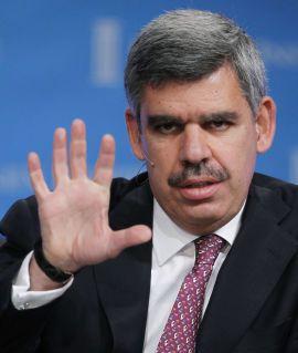 5 MÅL SOM UMULIG KAN NÅS: Mohamed El-Erian mener russiske myndigheter må balansere fem økonomiske mål opp mot hverandre - og at de umulig kan nå alle.