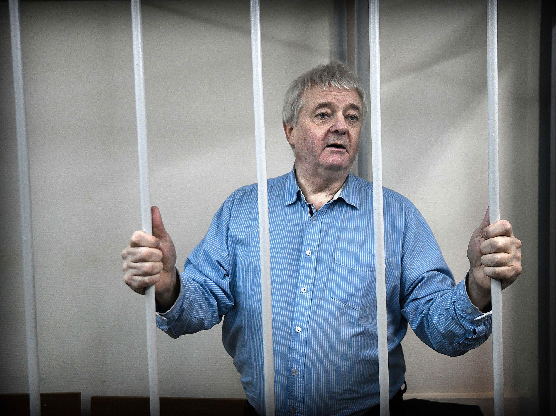 FENGSLET: Frode Berg har sittet fengslet i Moskva siden 5. desember i fjor, mistenkt for spionasje
