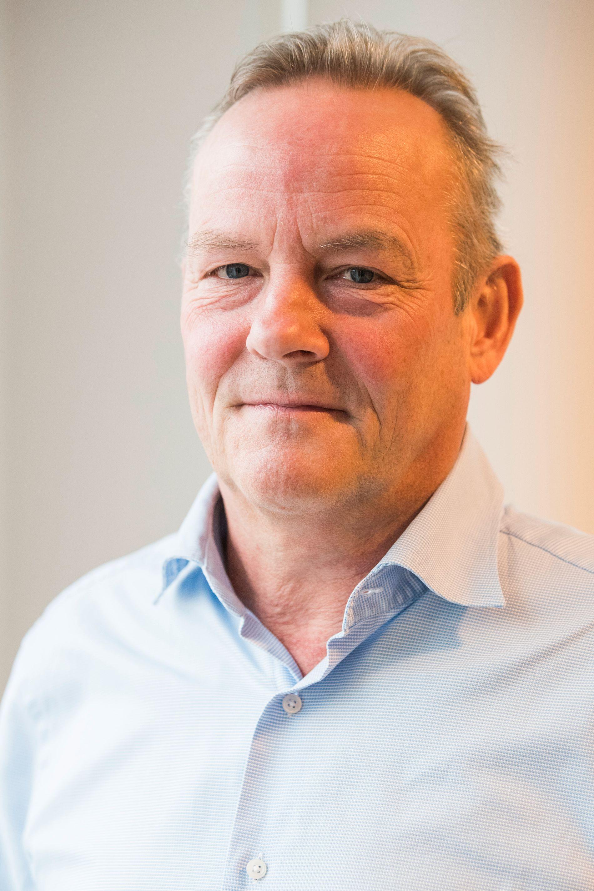 Kommunikasjonsdirektør i Gjensidige, Øystein Thoresen.