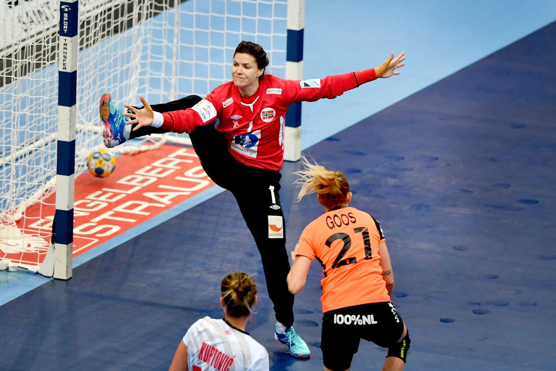 HØYT OG LAVT: Kari Aalvik Grimsbø har vunnet en rekke titler med håndballandslaget.