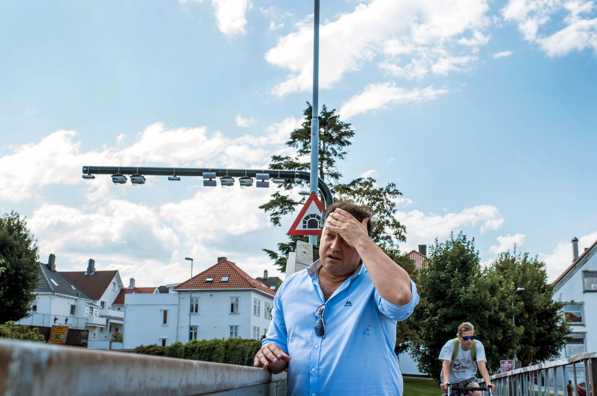 NOK ER NOK: Frode Myrhol reiste til Oslo for å ta et oppgjør med deler av Oslo FNB.