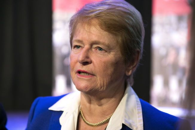 PÅ ENERGIMØTE: Gro Harlem Brundtland opptrer ikke lenger så ofte i offentlige sammenhenger, men i dag deltok hun på Statoils årlige høstkonferanse. FOTOJAN PETTER LYNAU/VG
