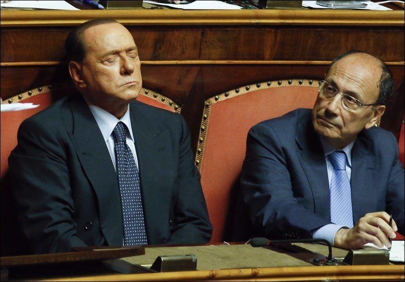 SISTE SJANSE: Tidligere har tidligere statsminister Silvio Berlusconi blitt dømt to ganger for skattesvindel. Torsdag avgjorde høyesterett at dommen skal opprettholdes. Foto: REUTERS