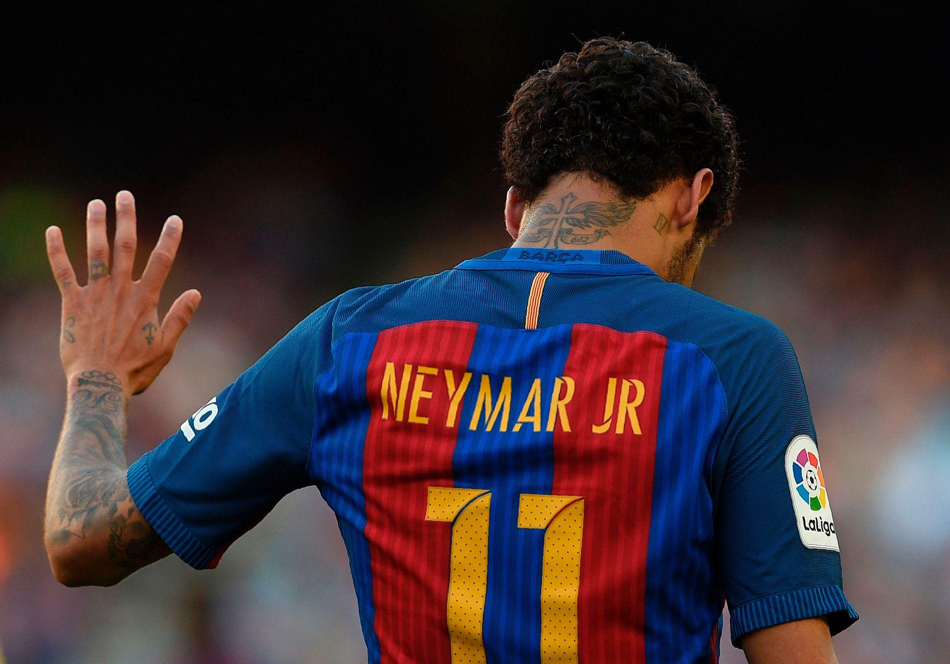 DET UMULIGE: Overgangen som ikke kunne skje, er i ferd med å skje: Neymar vinker etter alle solemerker farvel Barcelona til fordel for PSG.