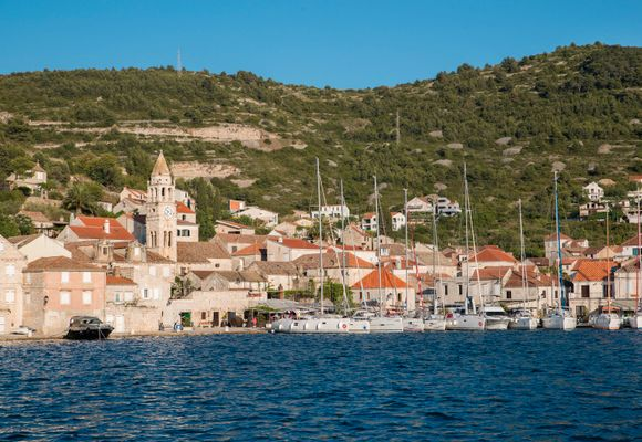 På seilferie i Kroatia