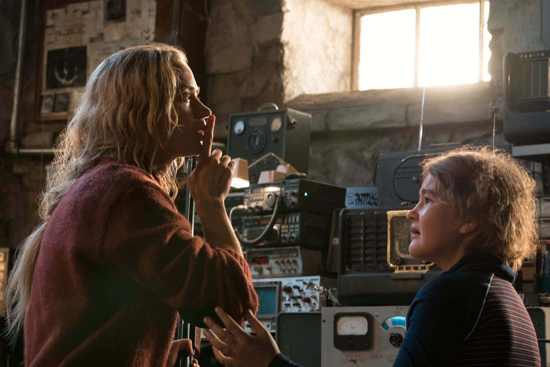 Emily Blunt og Millicent Simmonds i «A Quiet Place».