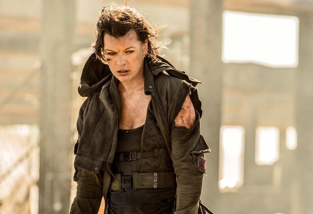 HOVEDROLLE: Milla Jovovich (bildet) har spilt rollen som Alice i «Resident Evil»-filmene.