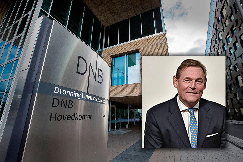 RISIKO: Konserndirektør for risikostyring i DNB, Terje Turnes, satt i styret til DNB Luxembourg fra 2005 til 2010. Styret ble informert I 2005 om planene for skatteopplegg i lavskattland, følge DNBs redegjørelse i dag. Foto Terje Turnes: DNB. Bakgrunnsbilde: NTB scanpix