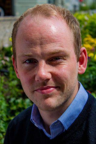 STUDENT: - Dagens unge er veldig stresset, sier Anders Kvernmo Langset (27), leder i Norsk studentorganisasjon.