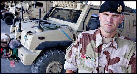 FÅR NYTT REGELVERK: Oberstløytnant Lars Lervik, fungerende norsk kontingentsjef i Afghanistan. Foto: Lars Magne Hovtun/Forsvaret