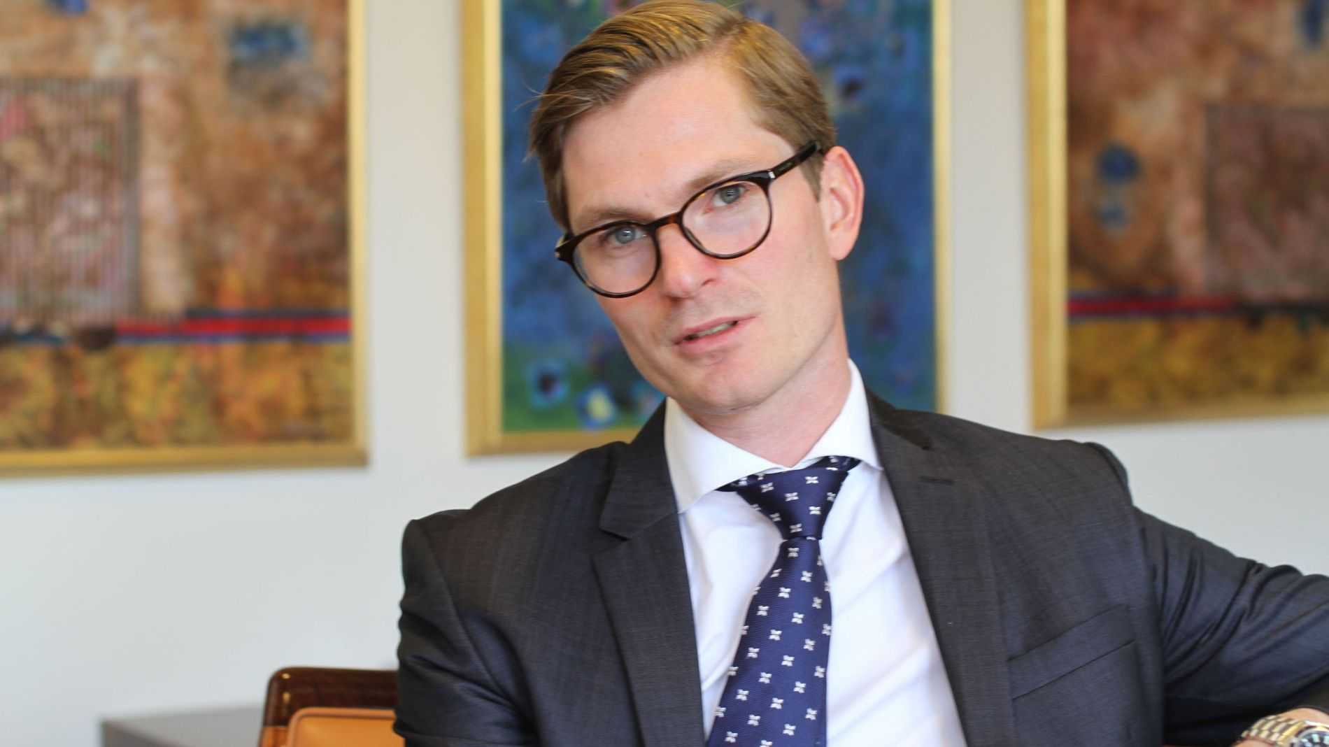 – VI ER GENUINT AKTIVE: Arne Simensen er ansatt til å forvalte det nye Norden-fondet til Fondsfinans Kapitalforvaltning. Han mener det som skiller dem fra mange av konkurrentene skal være en genuin aktivitet som forvalter. – Her vil du ikke bare finne de klassiske topp-ti-selskapene, sier han.
