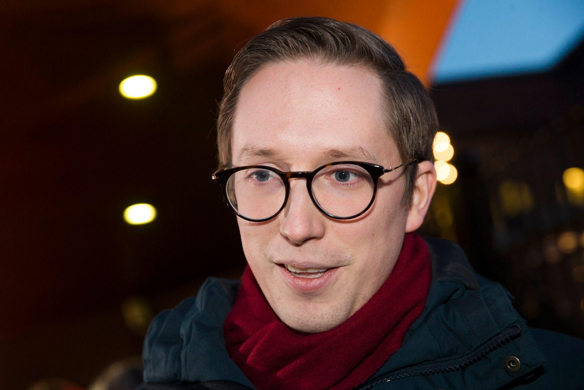 Tidligere leder i Unge Høyre Kristian Tonning Riise.