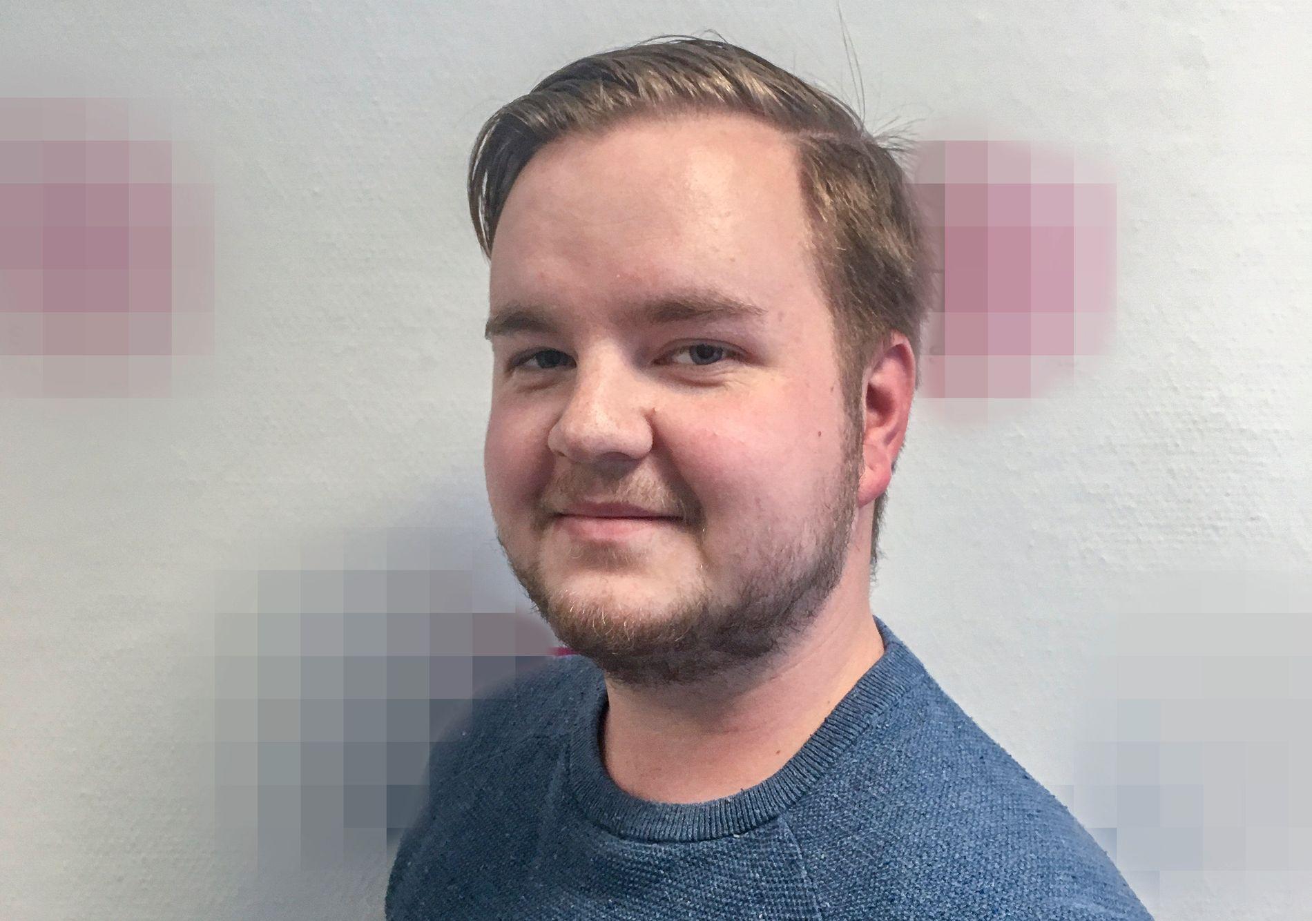 DREPT: Heikki Bjørklund Paltto (24) fra Mysen ble funnet død hjemme i leiligheten han delte sammen med kamerater på Majorstuen.
