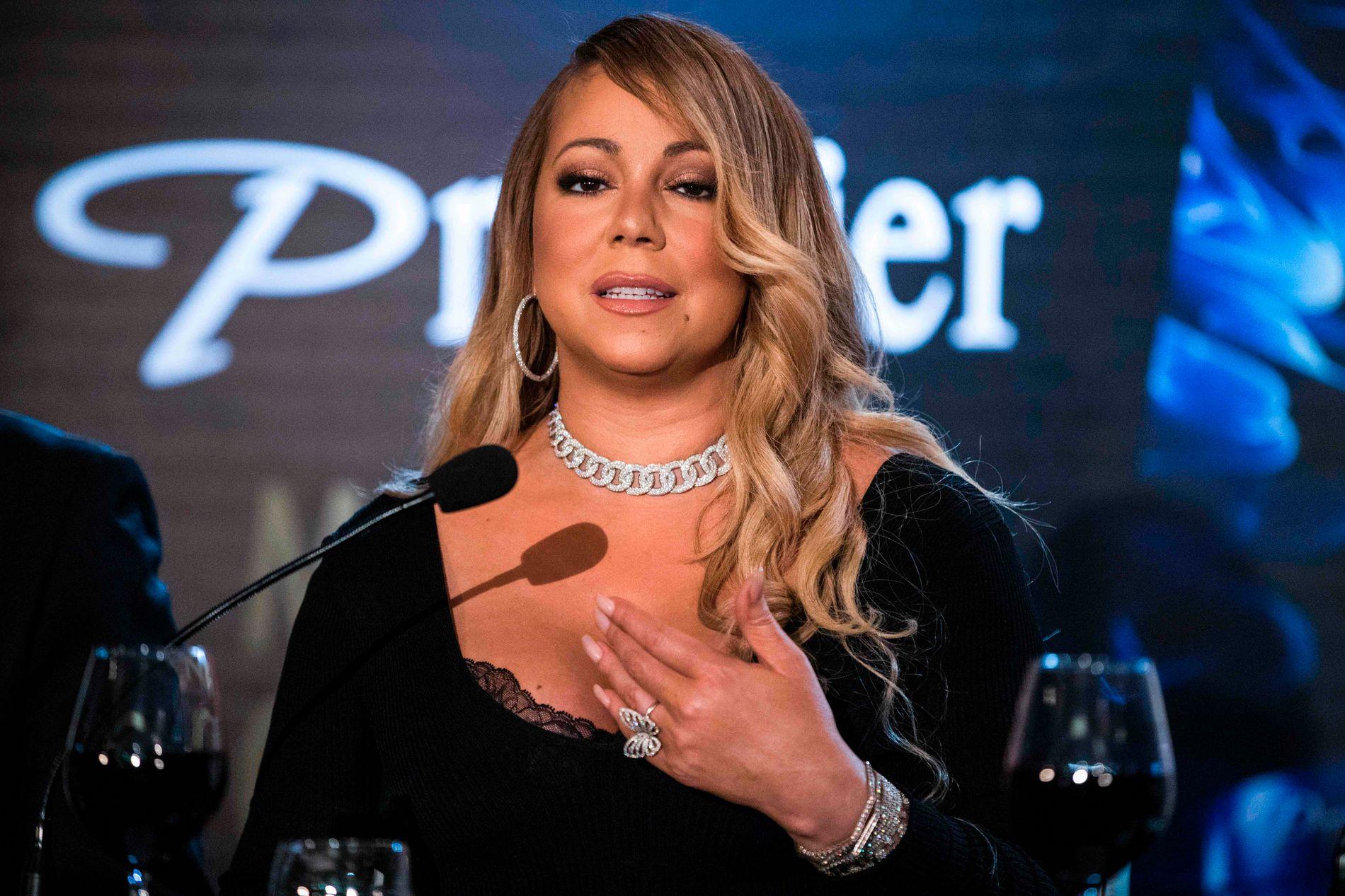 SLITER: I et nytt intervju forteller Mariah Carey om sine psykiske problemer. Hun fikk diagnosen bipolar lidelse allerede i 2001, men nektet å tro det.