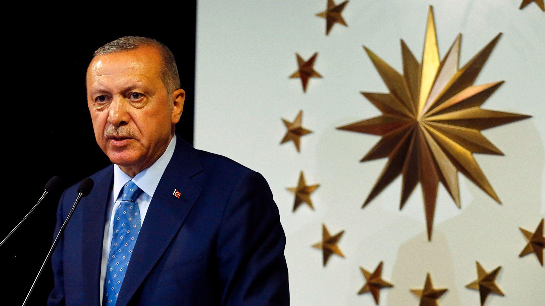 MER MAKT: Erdogan har tatt mer kontroll over tyrkisk økonomi.